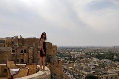 Miri on Jaisalmer's fort