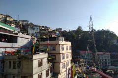 Gangtok is steep