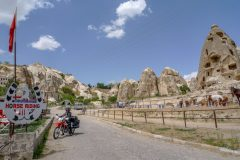 Rock appartments in Göreme