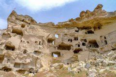 Rock-carved city near Göreme