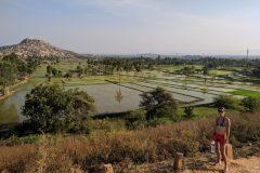 Beautiful Hampi landscape
