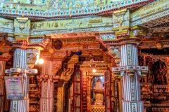 Hindu temple in Bikaner