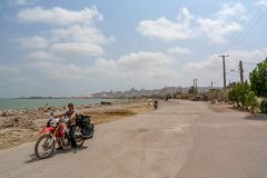 Small town on Hormuz Island