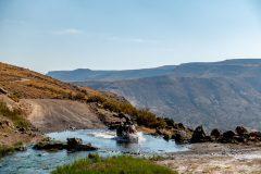 Hot river crossing!