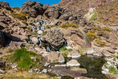 Hotspring cascades