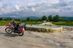 Magical hot spring near Vani