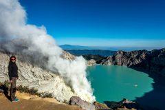 Beautiful crater of Mt. Ijen