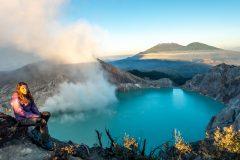 Acid Lake of Mt. Ijen