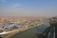 Kumbh Mela's huge tent city