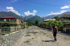 Street in Lagodekhi