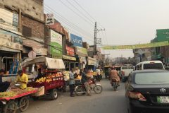 Street life in Lahore