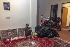 Last accommodation in Iran