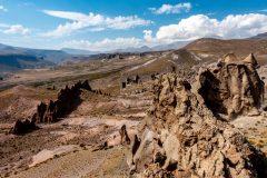 Los Bollilos rock formations