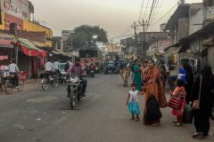 Street life in Lucknow