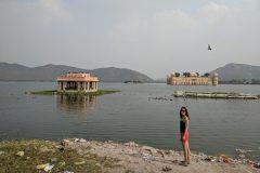 Man Sagar Lake in Jaipur