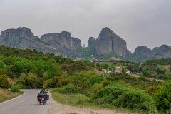 Last kilometers to Meteora