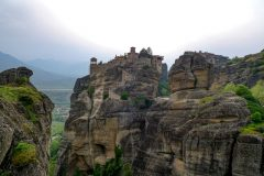 Impressive scenery in Meteora