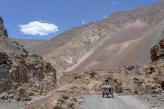 Miri enjoys the colourful valley