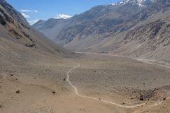 Vast valley in Bartang