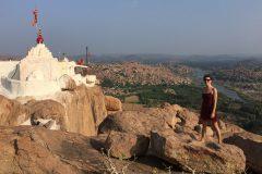 Monkey Temple in Hampi