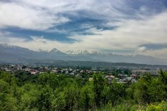 High mountains in Almaty
