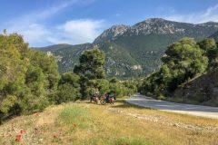Nice mountain roads near Corinth
