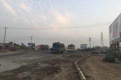 Dusty area around Sargodha