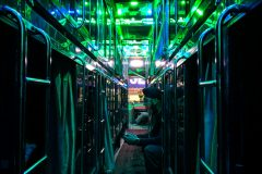 Fancy Indian overnight bus