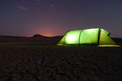 Night camp Azerbaijan