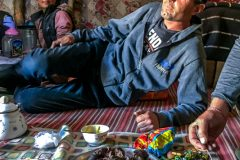 Nice meal with nomads in Bartang Valley Tajikistan