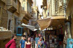 Nice alleys in Jaisalmer's old town