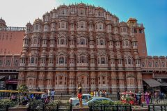 Palace of the Winds in Jaipur