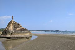 Palolem beach scenery