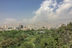 Tehran has some green parks