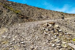 Last rocky bit of the pass