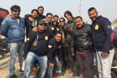 Part of the Biker Club Patna