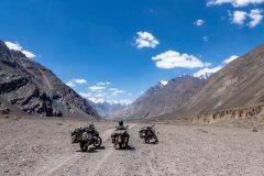 The whole upper Bartang route isery remote and beautiful