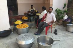 Cooking for the Puja