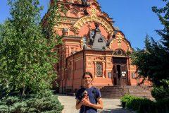 Red Monastery in Astrakhan