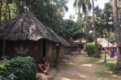 Our nice mud hut in Hampi