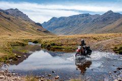 Bike wash on the road