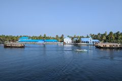 School in Alleppey's backwaters