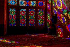 Miri in Pink Mosque in Shiraz