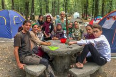 Camping in Si Sangan Forest Park