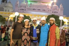Our friends at the shrine in Dewa