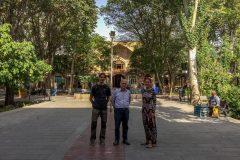 In front of the bazaar Tabriz