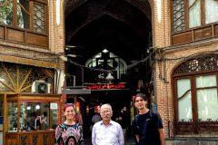 Nice guy giving us a bazaar tour