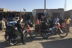 Petrol station near Taftan