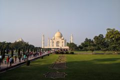 Busy day at Taj Mahal Agra