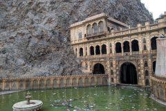 Part of the Hanuman Ji Temple